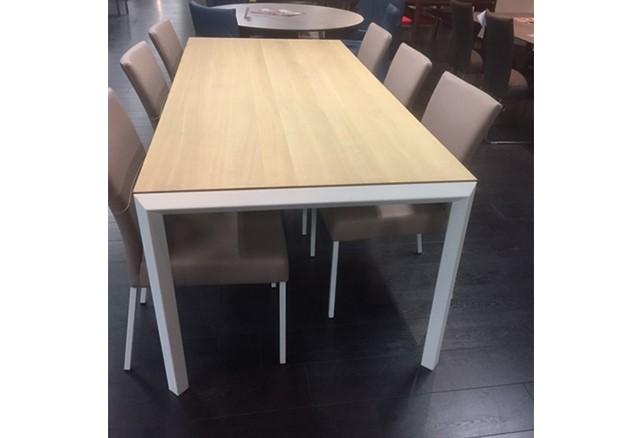 Wit Eiken Tafel : Diamond tafel eiken premium olie onderstel wit bert plantagie outlet